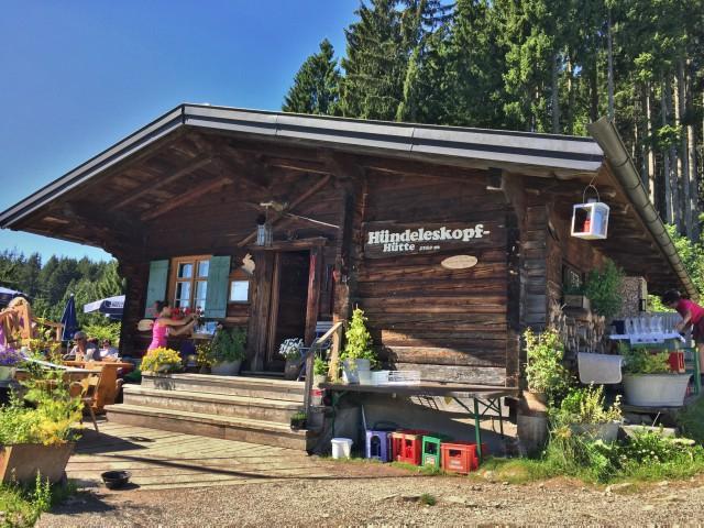 Hündeleskopfhütte – Vegetarisch-vegane Hütte